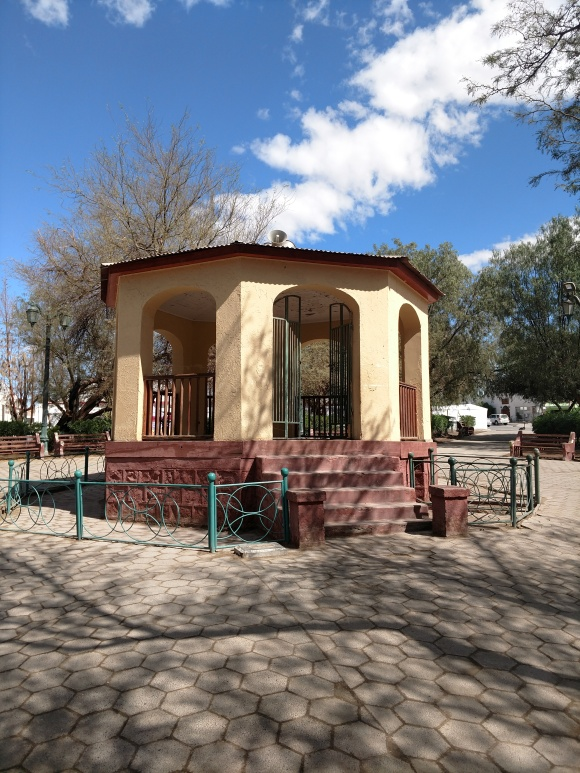 The gazebo in the Plaza de Armas
