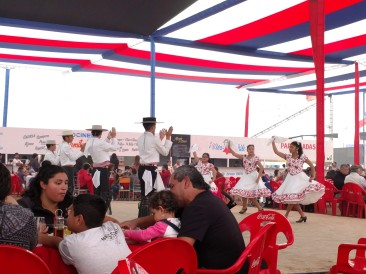 Cueca at the Ramadas in Antofagasta