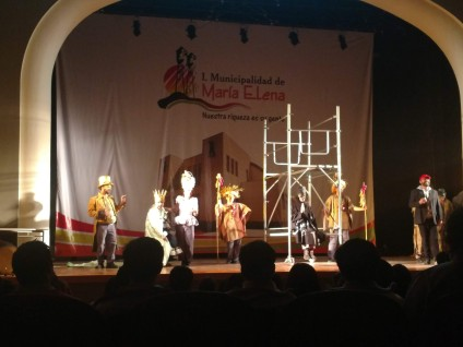 Play performed in Maria Elena