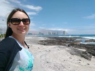 On the beach in Iquique