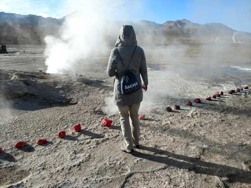 Into the mist at El Tatio