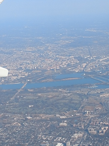 Flying into DCA