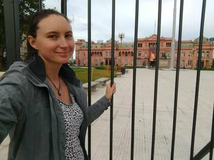 From the White House to the Pink House (Casa Rosada)