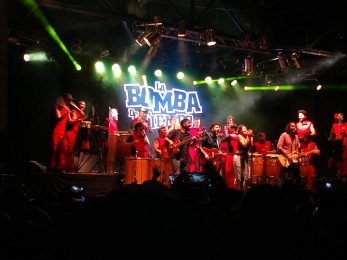 The famous Bomba drum show