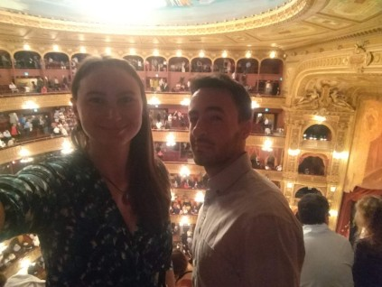 Inside Teatro Colon