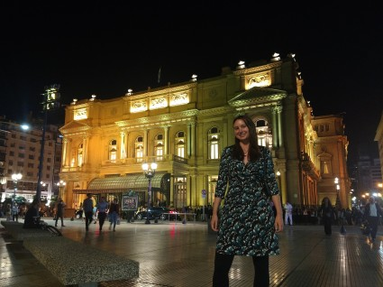 A night at Teatro Colon