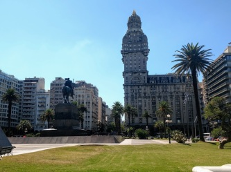 The main square in Montevideo