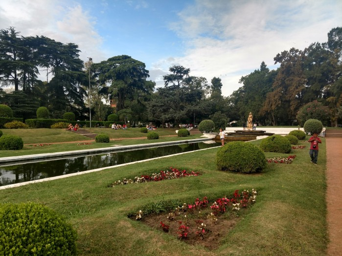 A lovely park in Rosario