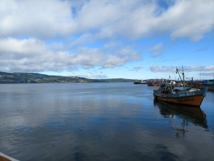 Down by the port, Ancud