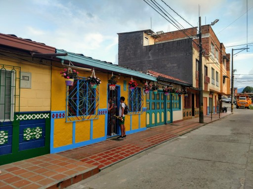 Colorful pueblos around Medellin
