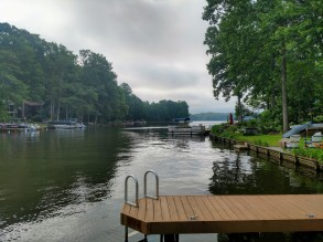 Lakehouse dock
