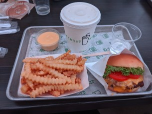 CRUSHED this Shake Shack at Singapore airport