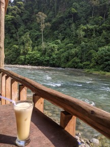 Riverside in Bukit Lawang