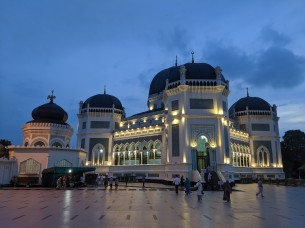 Main mosque in Medan