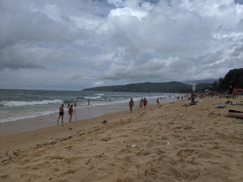 A perfectly adequate beach in Phuket