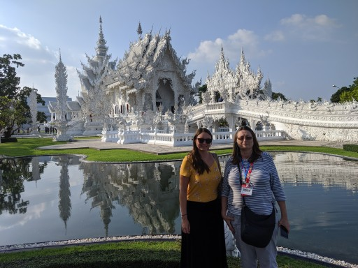 At the White Temple