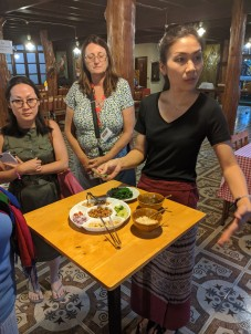 Learning Thai appetizers