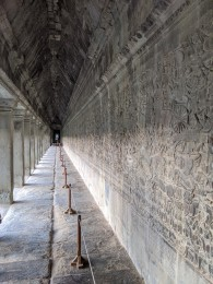 Amazing Angkor Wat carvings