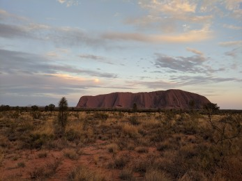 Uluru in its glory