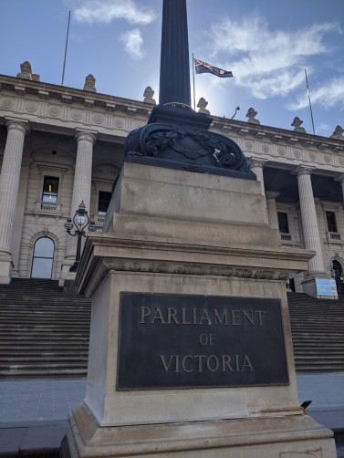 Melbourne is the capital of the state of Victoria
