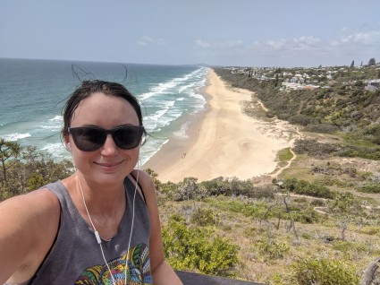 Hitting up beaches in Noosa National Park