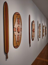 Aboriginal art in the art musuem