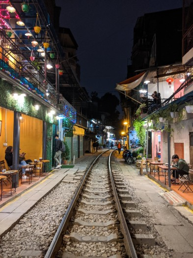 Train Street in Hanoi